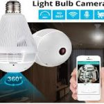 JIVISION Lamp Wireless Camera Bulb Light 5
