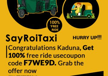Less Fare Radio Taxi In Kaduna, We Give You Freedom To Go Anywhere At Cheapest Fare Taxi in Kaduna. 3