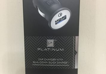 Platinum Single USB Car Charger with Qualcomm Quick Charge 2.0 2
