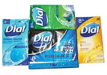 Dial Antibacterial Deodorant soap 25