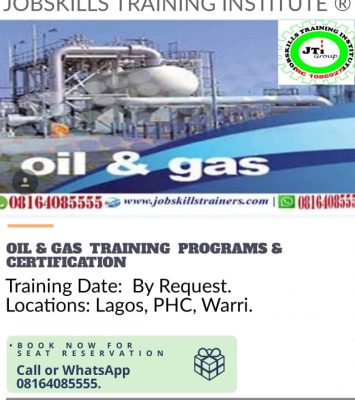OIL & GAS TRAINING PROGRAM 12
