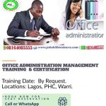 OFFICE ADMINISTRATION AND MANAGEMENT TRAINING 3