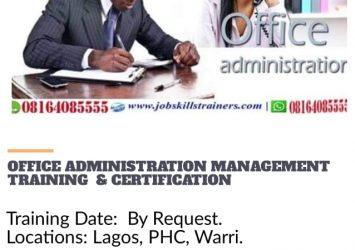 OFFICE ADMINISTRATION AND MANAGEMENT TRAINING 16