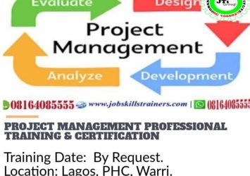 PROJECT MANAGEMENT PROFESSIONAL TRAINING (PMP) 24