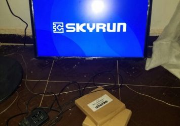 "SKYRUN LED 22"" TV 2"