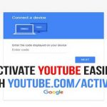 Youtube Activate 1