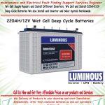 We Sell and Install 220AH/12V Tubular Inverter Batteries 3