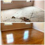 Wooden laminate floor 2