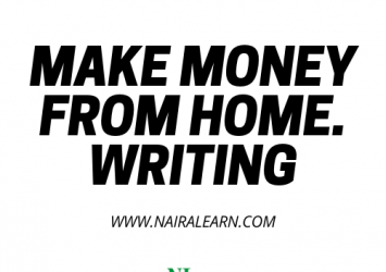 Make Money From Home, Writing And Publishing Online 9