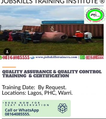 QUALITY ASSURANCE AND QUALITY CONTROL TRAINING (QAQC) 7