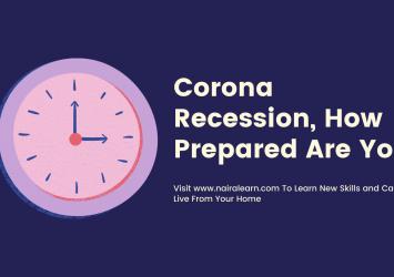 Corona Recession, How Prepared Are You 4